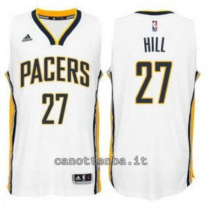 canotte jordan hill #27 indiana pacers 2014-2015 bianca