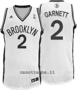 canotte kevin garnett #2 brooklyn nets revolution 30 bianca