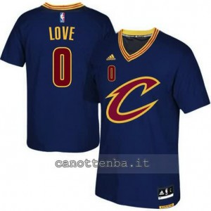 canotte kevin love #0 cleveland cavaliers 2015-2016 blu