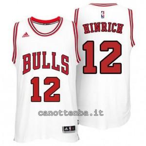 canotte kirk hinrich #12 chicago bulls 2014-2015 bianca