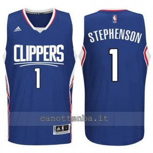canotte lance stephenson #1 los angeles clippers 2015-2016 blu
