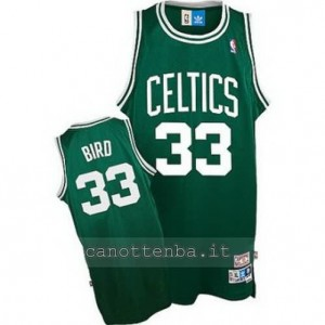 canotte larry bird #33 boston celtics classico verde