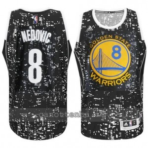 canotte nemanja nedovic #8 golden state warriors lights nero