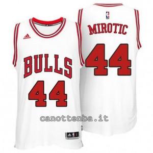 canotte nikola mirotic #44 chicago bulls 2014-2015 bianca