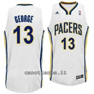 canotte paul george #13 indiana pacers revolution 30 bianca