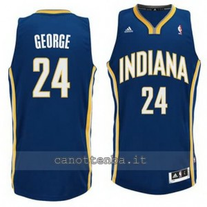 canotte paul george #24 indiana pacers revolution 30 blu