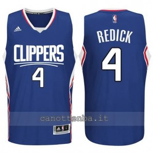 canotte redick #4 los angeles clippers 2015-2016 blu