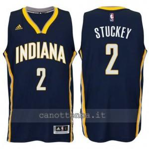canotte rodney stuckey #2 indiana pacers 2014-2015 blu