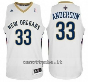 canotte ryan anderson #33 new orleans pelicans revolution 30 bianca