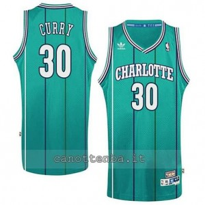 canotte stephen curry #30 charlotte hornets retro