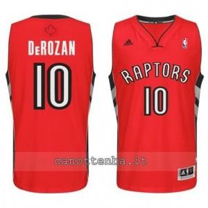 maglia DeMar DeRozan #10 toronto raptors revolution 30 rosso