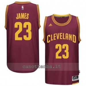 maglia LeBron james #23 cleveland cavaliers 2014-2015 rosso