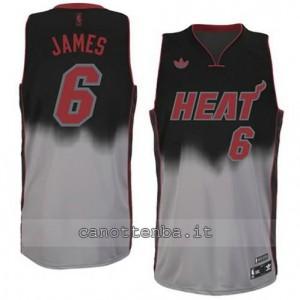 maglia LeBron james #6 miami heat moda fadeaway