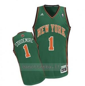 maglia amar'e stoudemire #1 new york knicks verde