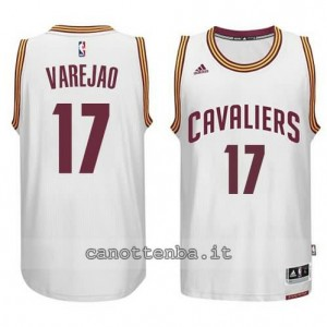 maglia anderson varejao #17 cleveland cavaliers 2014-2015 bianca