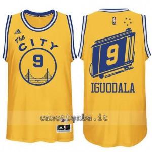 maglia andre iguodala #9 golden state warriors classico giallo