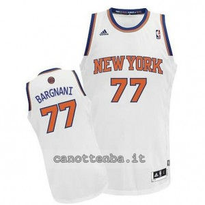 maglia andrea bargnani #77 new york knicks revolution 30 bianca