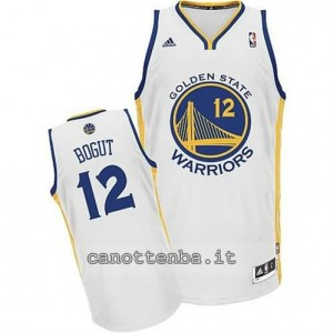maglia andrew bogut #12 golden state warriors swingman bianca