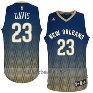 maglia anthony davis #23 new orleans pelicans moda resonate