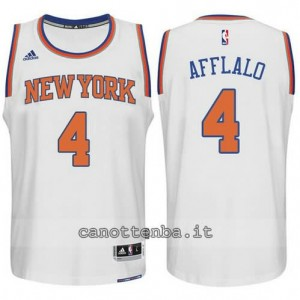 maglia arron afflalo #4 new york knicks 2015 swingman bianca