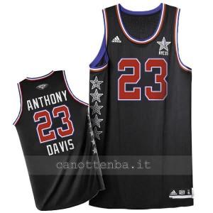 maglia basket anthony davis #23 nba all star 2015 nero