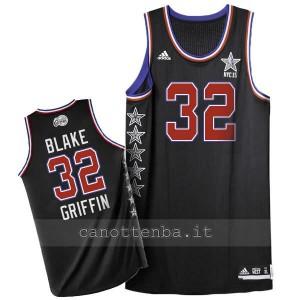 maglia basket blake griffin #32 nba all star 2015 nero