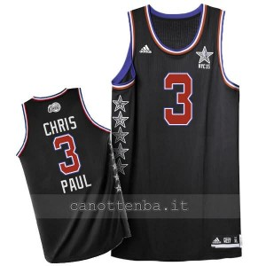 maglia basket chris paul #3 nba all star 2015 nero