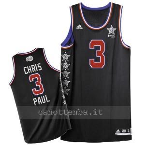 maglia basket chris paul #3 nba all star 2015 nero