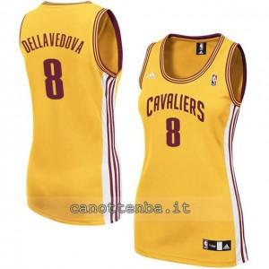 maglia basket donna matthew dellavedova #8 cleveland cavaliers giallo