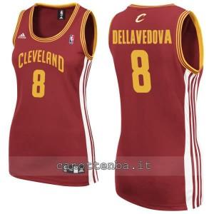 maglia basket donna matthew dellavedova #8 cleveland cavaliers rosso