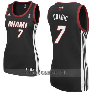 maglia basket donna miami heat goran dragic #7 nero