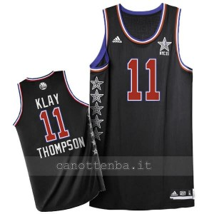maglia basket klay thompson #11 nba all star 2015 nero