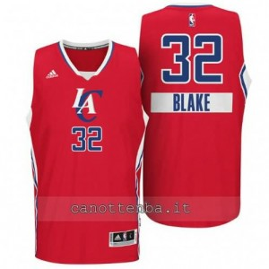 maglia blake griffin #32 los angeles clippers natale 2014 rosso