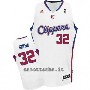 maglia blake griffin #32 los angeles clippers revolution 30 bianca