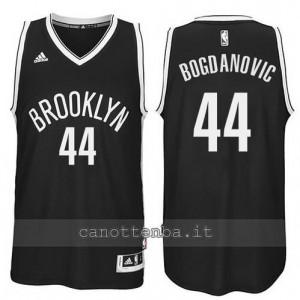 maglia bojan bogdanovic #44 brooklyn nets revolution 30 nero