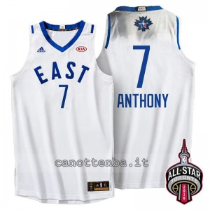 maglia carmelo anthony #7 nba all star 2016 bianca