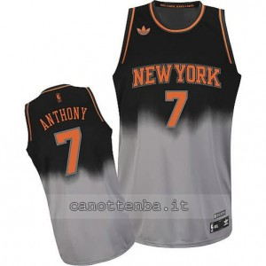maglia carmelo anthony #7 new york knicks moda grigio