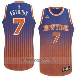 maglia carmelo anthony #7 new york knicks moda resonate