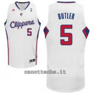 maglia carom butter #5 los angeles clippers revolution 30 bianca