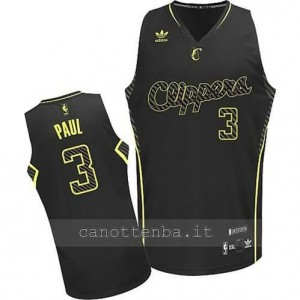 maglia chris paul #3 los angeles clippers moda electricity