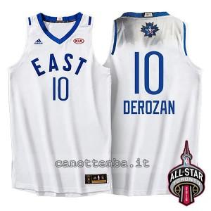 maglia demar DeRozan #10 nba all star 2016 bianca
