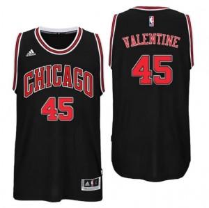 maglia denzel valentine #45 chicago bulls draft 2016 nero