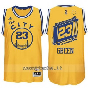 maglia draymond green #23 golden state warriors classico giallo