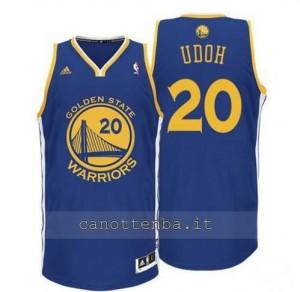 maglia ekpe udoh #20 golden state warriors revolution 30 blu