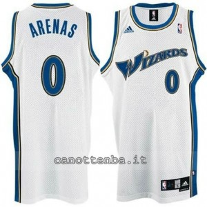 maglia gilbert arenas #0 washington wizards bianca