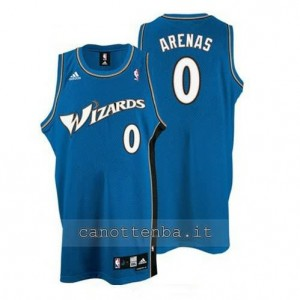 maglia gilbert arenas #0 washington wizards blu