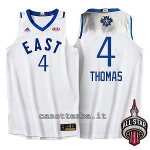 maglia isaiah thomas #4 nba all star 2016 bianca