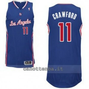 maglia jamal crawford #11 los angeles clippers revolution 30 blu