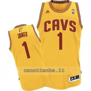 maglia james jones #1 cleveland cavaliers revolution 30 giallo