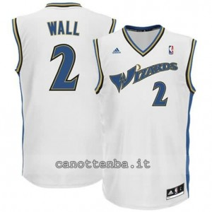 maglia john wall #2 washington wizards revolution 30 bianca